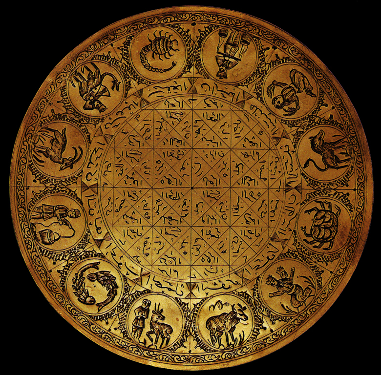 Arabia-disco astrologico