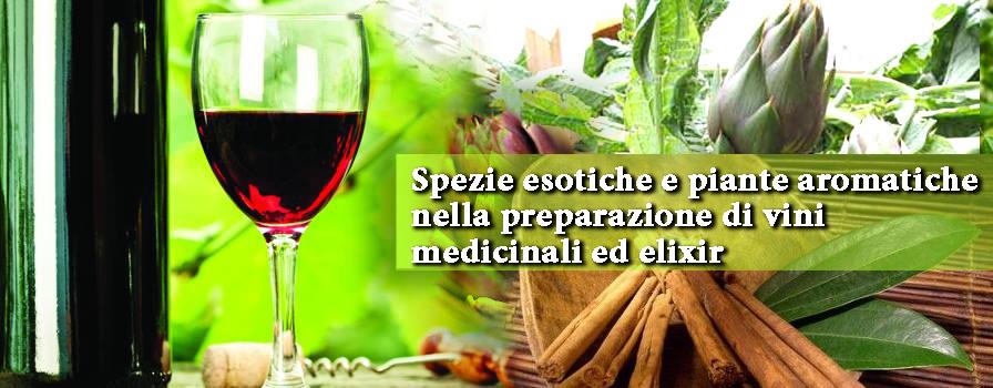 28 - 29 Marzo 2015: Stage di erboristeria - Vini medicinali ed elisir