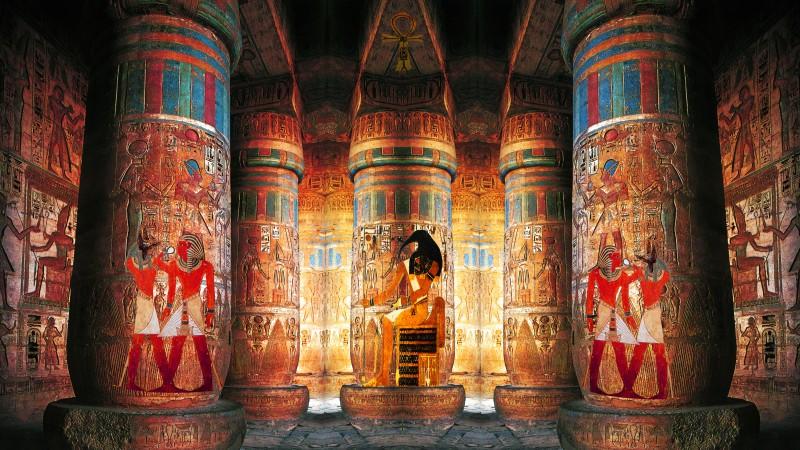 Tempio egizio - di Alessandro Benassai