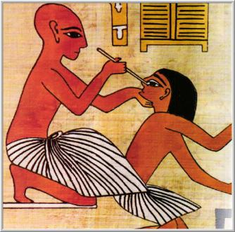 Egito Arte -  Medicina 01