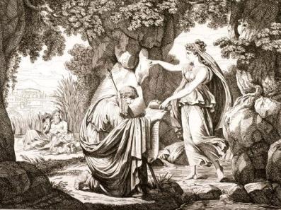 Numa Pompilio e la Ninfa Egeria (1)
