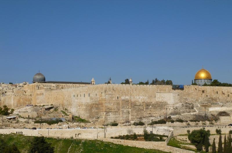 Gerusalemme Moschea della Roccia e Al Aqsa